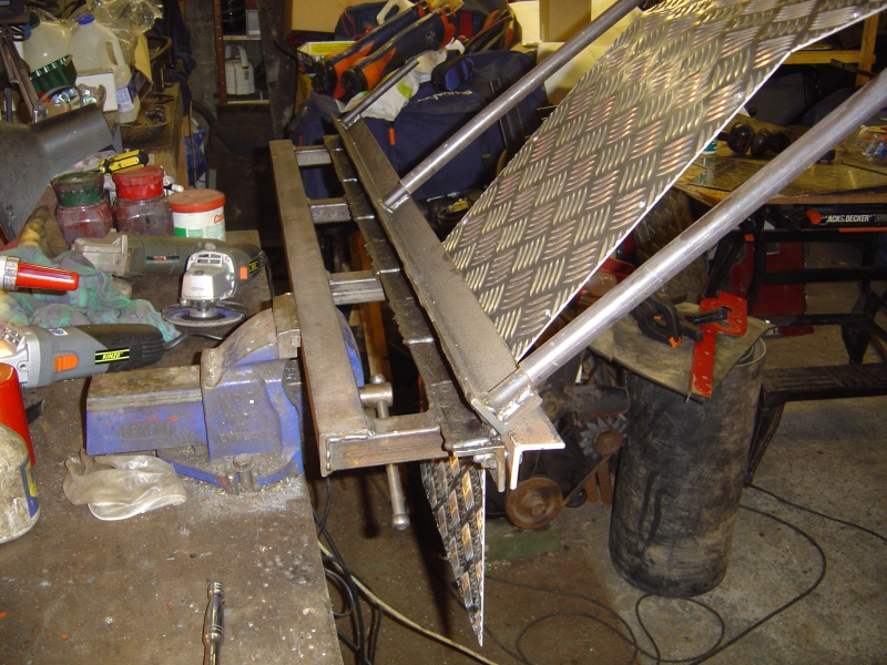 how to build a homemade bumper without a steel bender